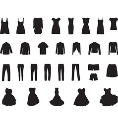 Clothes vector image vector image