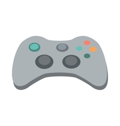 Gamepad in flat design vector