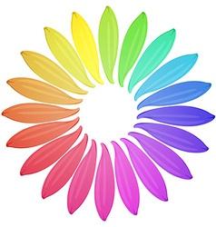 Petals vector image