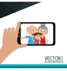 Selfie photography design vector