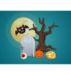 Halloween icon collection set 3 vector image