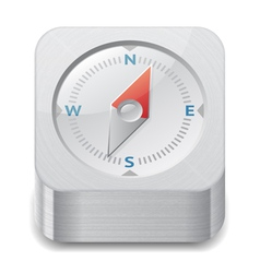 Icon for compass vector image