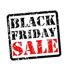 Black friday sale grunge vector