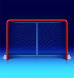 Ice hockey net vector image vector image