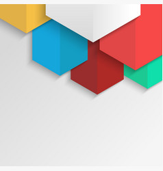 polygonal colorful abstract background for vector image
