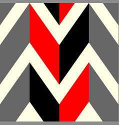 The pattern in which red black and gray lines vector