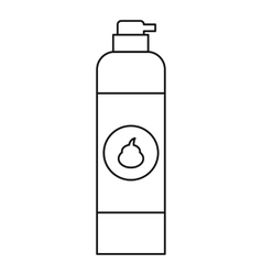 Air freshener icon outline style vector image