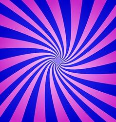 Magenta blue spiral background vector