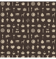 Restaurant background vector