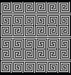 square spiral seamless pattern vector image vector image