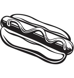 Acg00171 hot dog vector