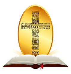 Holy bible vector