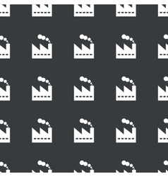 Straight black factory pattern vector