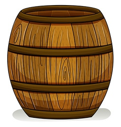 A barrel vector image