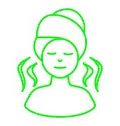 Warm spa vector image vector image