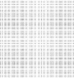 Seamless halftone pattern of squares vector