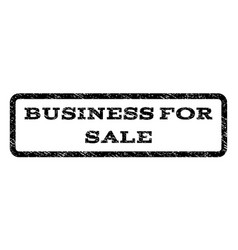 Business for sale watermark stamp vector