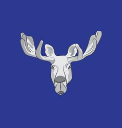 Flag of ostersund in jamtland county of sweden vector