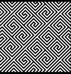 square spiral seamless pattern vector image