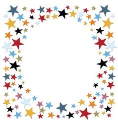 Stars confetti vector