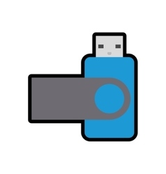 Usb icon gadget and technology design vector
