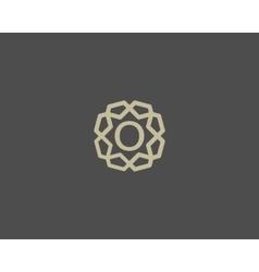 Premium number 0 logo icon design Luxury vector image