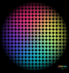rainbow background with spectrum cell vector image