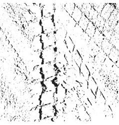 Tire tracks dirty grunge tire tracks vector