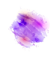 Abstract watercolor stain vector
