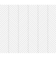 Black and white parquet pattern vector image vector image