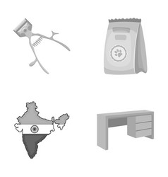 Hygiene travel tourism and other monochrome icon vector