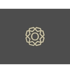 Premium number 0 logo icon design luxury vector
