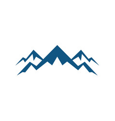 rocky mountain expedition logo vector image