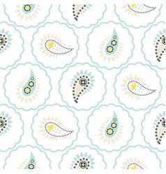 Paisley pattern seamless vector