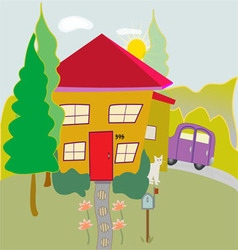 My house vector