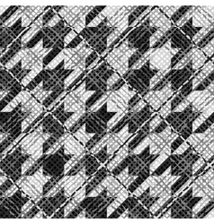 Abstract hounds-tooth background vector