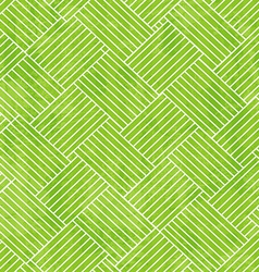 Green fabric seamless texture with grunge effect vector