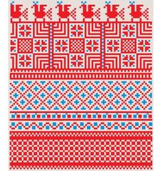 Inca iconography background vector