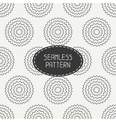 Geometric monochrome art hipster line seamless vector
