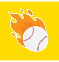Baseball isolated team icon vector