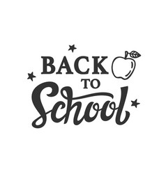 back to school banner template vector image