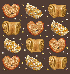 Bakery broun vector image vector image
