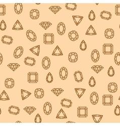 Diamonds pattern vector image
