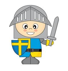 little knight vector image