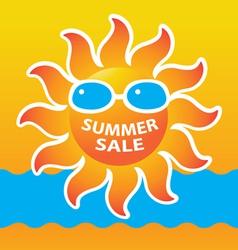 sale summer vector image