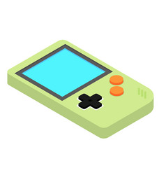 Old gadget isometric flat icon eps10 vector