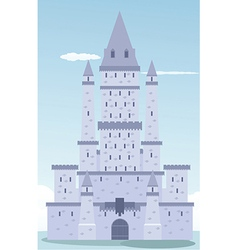 Castle design vector