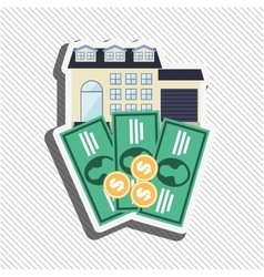 Invest savings design vector