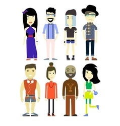 Different people vector