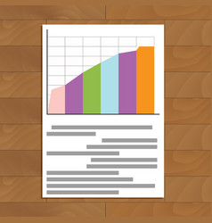 Document chart vector